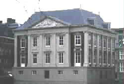 The MAURITSHUIS in the Hague, Netherlands, the 